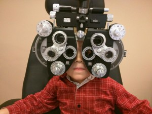 Optometry boy