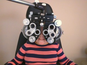 Optometry girl