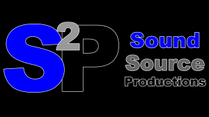 Sound Source Productions Logo Black