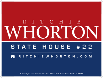 Whorton - two color logo