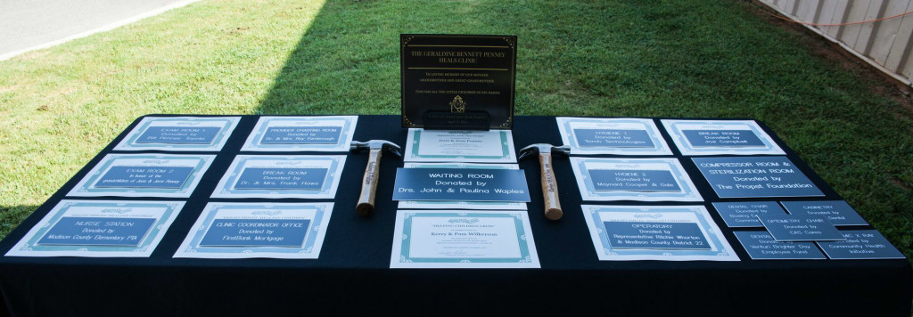 Gurley Certificates and room plaques